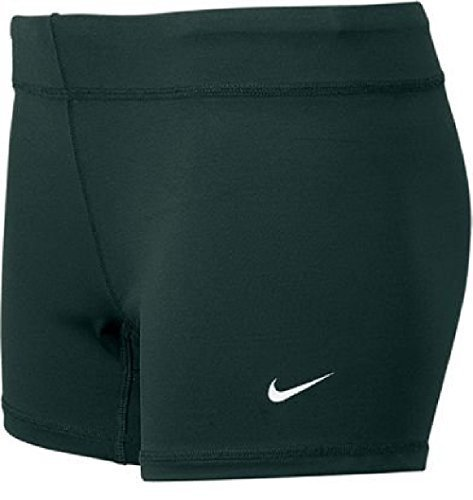 Nike Performance Women's Volleyball Game Shorts (Medium, Black) (Embroidered Nike Shorts)