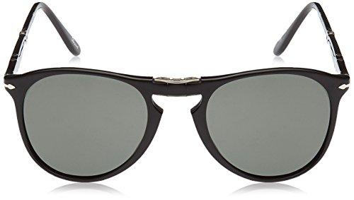 Crygreenpolarized Black Persol Unisex Gafas de Sol Negro 68Y6X