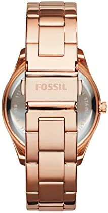 Fossil Women's Stella Stainless Steel Crystal-Accented Multifunction Quartz Watch WeeklyReviewer