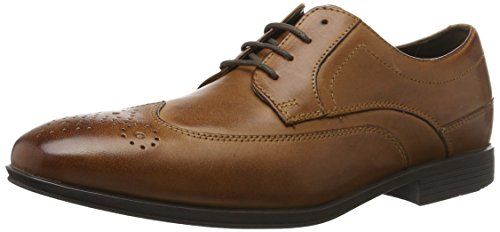 brown Rockport Scarpe Le 200 Wingtip Stringate Marrone Uomo Sc qArAfPxY