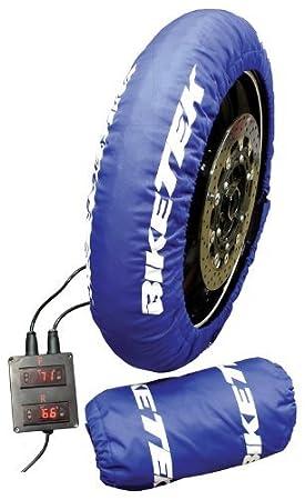 BikeTek Standard calentadores de neumáticos UK 3Pin-200/55-17trasera frontal de 120/70-17: Amazon.es: Coche y moto