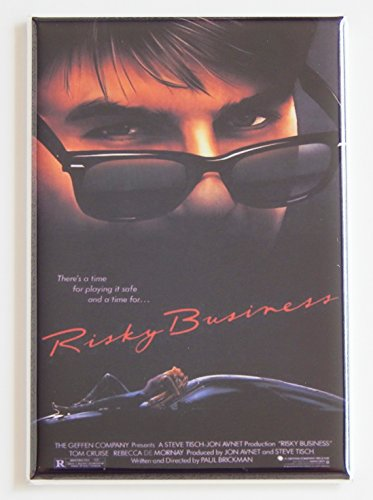 Risky Business Movie Poster Fridge Magnet (2.5 x 3.5 inches)
