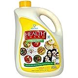 Meera Exports RCM Rice Bran Oil, 5L (Yellow)