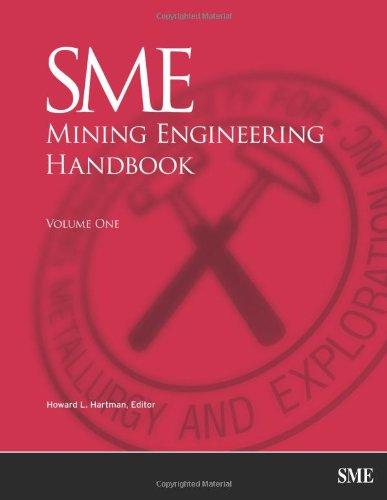 !B.e.s.t SME Mining Engineering Handbook, 2 Volume Set (Second Edition) R.A.R