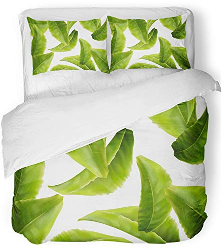 Emvency 3 Piece Duvet Cover Set Breathable Brushed Microfibe