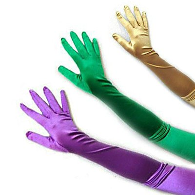 "SACAS 23"" Long Party Bridal Dance Gloves with 15 Colors"