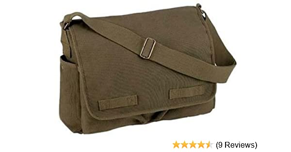Amazon.com  9148 Messenger Bag Olive Drab  Clothing a2ece80ca00