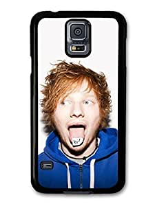 AMAF ? Accessories Ed Sheeran Tongue Funny Face case for Samsung Galaxy S5