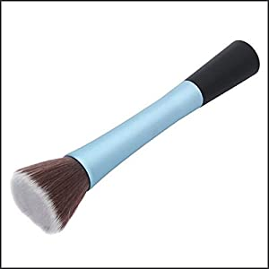 Petbly(TM) 1PC Blue Professional Cosmetic Kabuki Brush Face Make Up Blusher Powder Foundation Tool Flat Top