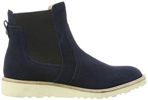 ... ESPRIT Damen Kajal TG Bootie Chelsea Boots Blau (400 Navy)