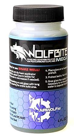 Amazon.com: Airwolf 3D Wolfbite Mega 4 oz 3D impresora cama ...