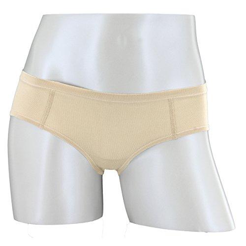 adidas Women's Superlite Cheekster Underwear, Light Nude/Matter Silver, Small
