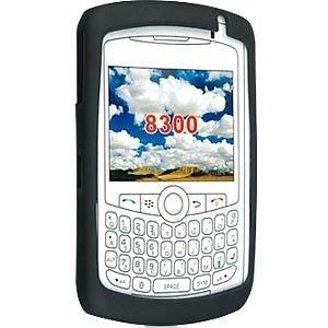 Silicone Skin Case for Blackberry Curve 8300/8310/8320/8330 - Black