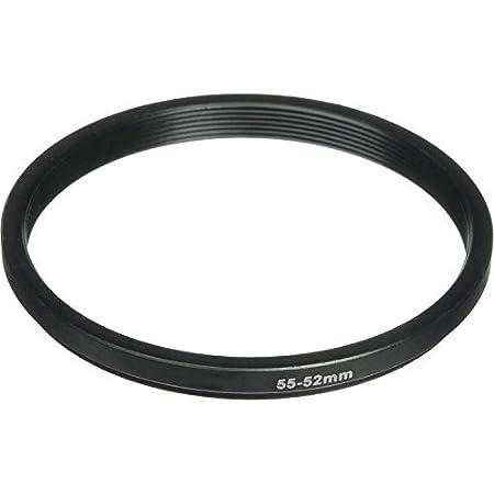 Phot-R 58-55mm Negro Aluminio De bajada paso a paso anillo adaptador de filtros de camara y lentes