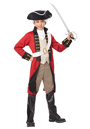 Redcoat Costumes (California Costumes British Redcoat Child Costume, Medium)