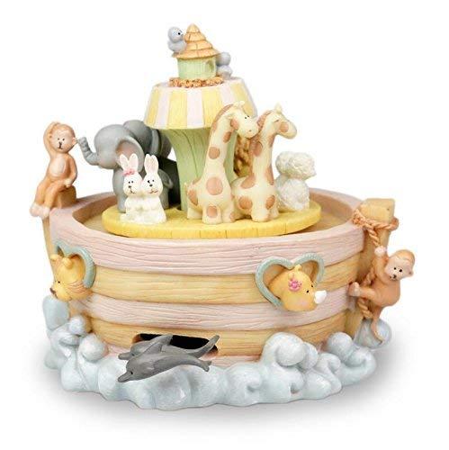 OIBHFO Home Kinder Spieluhr Tierwelt Karussell Spieluhr Mädchen Desktop Dekoration Geburtstagsgeschenke