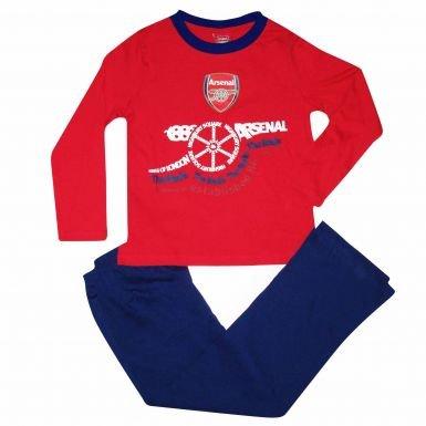 Arsenal FC Crest Kids Pyjamas