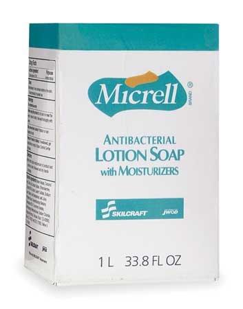 Ability One Light Liquid Hand Soap, 800mL Cartridge, 12 PK 800mL Amber 8520-01-522-0829 - 1 Each 522 Fixture