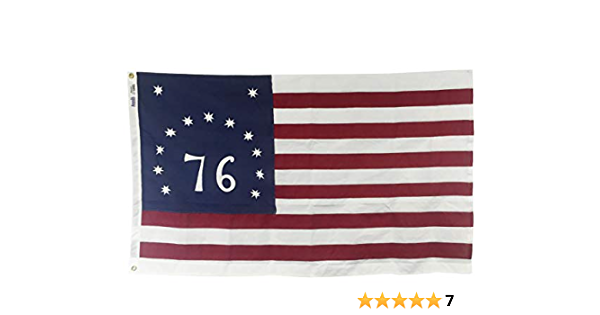 Amazon Com 3x5 Bennington 76 Flag Sewn And Embroidered Heavy Duty 2 Ply Polyester Outdoor Patriotic Flag Made In The Usa Garden Outdoor