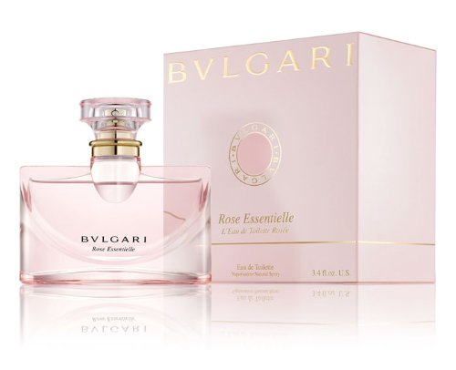 Bvlğari Rose Essentielle Eau De Toilette Spray for Women 3.4 FL. OZ ()