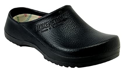 612f7746b666 Image Unavailable. Image not available for. Color  Birkenstock 68011 Black  Super Birki Clog ...