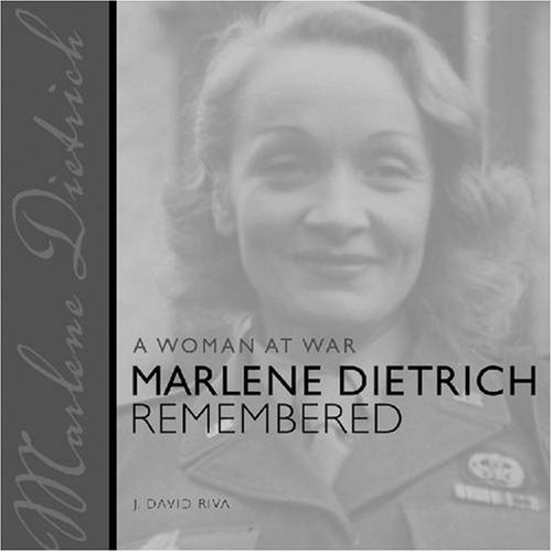 Books : A Woman at War: Marlene Dietrich Remembered (Painted Turtle)