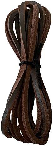 皮紐 革紐 皮ひも 靴ひも 革ひも 2本入り(1足分) 3mm幅
