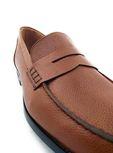 ... Zerimar Herren Lederschuh Schuh mit Flexibler Gummisohle Leder Casual  Schuh Täglicher Gebrauch Schöne Leder Sportlich Schuh f4fec6e459