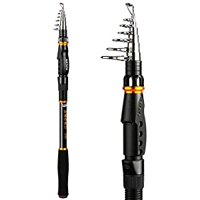 Goture SWORD Series Telescopic Fishing Rod Freshwater Saltwater Travel Spinning Fishing Rods Retractable Poles For Trolling Surf Casting