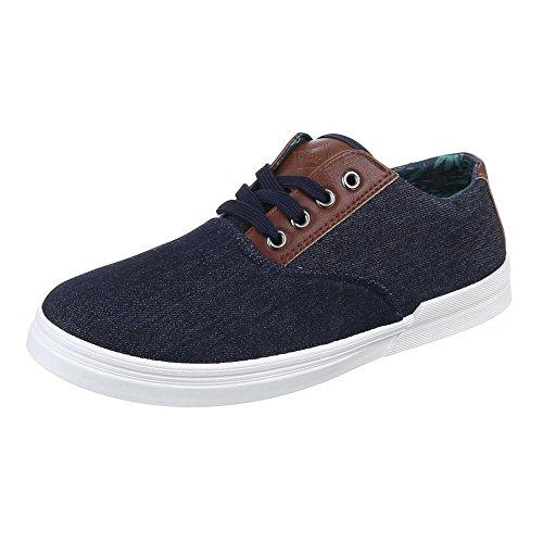 Ital-Design Men's Shoes Blue - Dark Blue cqTbxZ5o