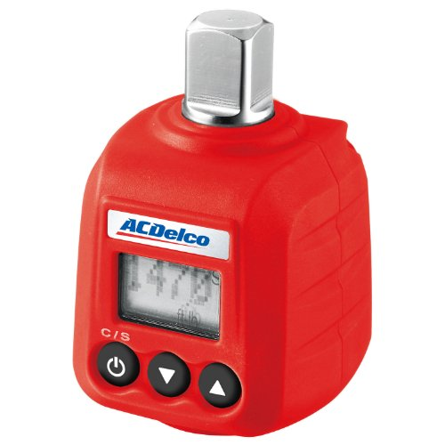 "ACDelco ARM602-4 1/2"" Digital Torque Adapter (4-147.6 ft-lbs) with Audible Alert"