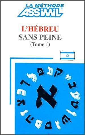 assimil hebreu sans peine