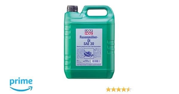 Liqui Moly 1266 Aceite para Cortacéspedes SAE 30, 5 L: Amazon.es ...