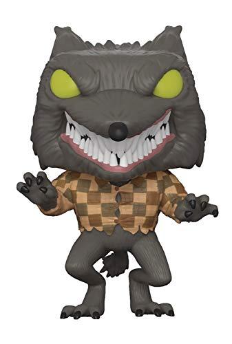 Funko 32842 Pop! Disney: Nightmare Before Christmas- Wolfman Specialty Standard, Gray -