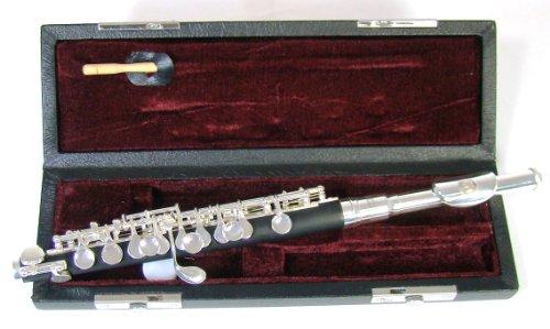Barrington  Model BR PC201 Standard Piccolo Plastic Body w/Silver Plated Metal Headjoint & Key of  C by Barrington