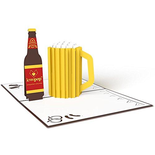 Beer 3D Pop Up Card