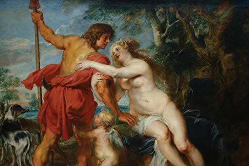 ArtParisienne Venus and Adonis Peter Paul Rubens 24x36-inch Wall Decal