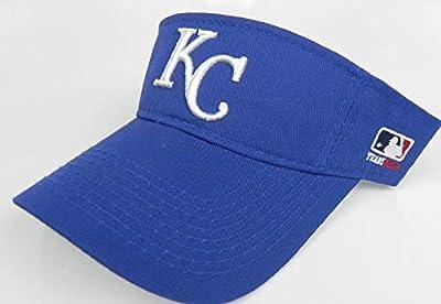OC Sports Kansas City Royals MLB Blue Golf Sun Visor Hat Cap Adult Men's Adjustable