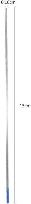 10pcs Elettrodi per saldatura 1.0 * 150mm elettrodi per saldatura al tungsteno Elettrodo lantato blu 1.0//1.6//2.4mm