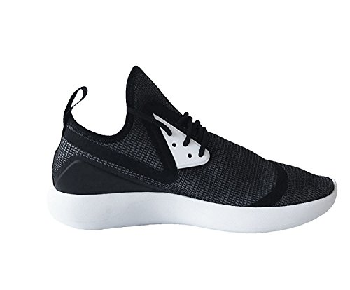 Nike Mens Lunarcload Essential Scarpa Da Corsa Alta Caviglia Nero Bianco Nero 001