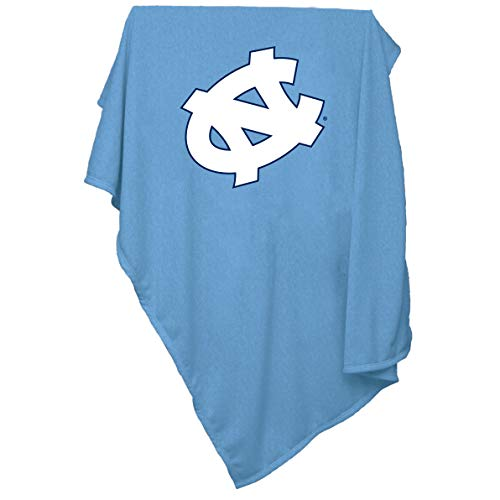 (NCAA North Carolina Tar Heels Sweatshirt Blanket,)