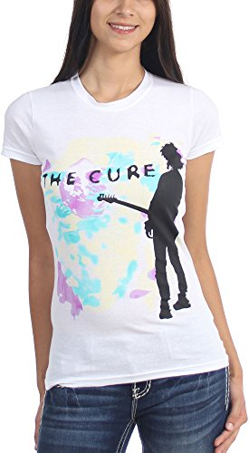 The Cure - Womens Boys Dont Cry T-Shirt, Size: X-Large, Color: White