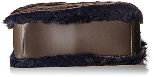 Chicca Brown Women's Brown 8489 Shoulder Borse dark Dark Bag rHn8qrA