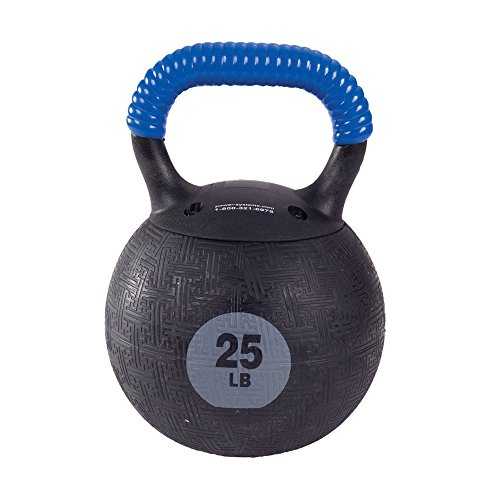 Power Systems Kor Kettlebell, 25 Pounds, Blue/Advanced (50190)