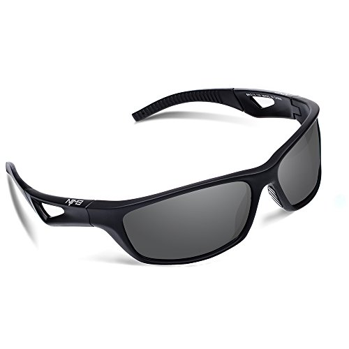 5bc14e0d717 Ewin E51 Polarized Sports Sunglasses with TR90 Unbreakable Frame for Men  Women Golf Cycling Driving Fishing Running Glasses (Black Black) - Buy  Online in ...
