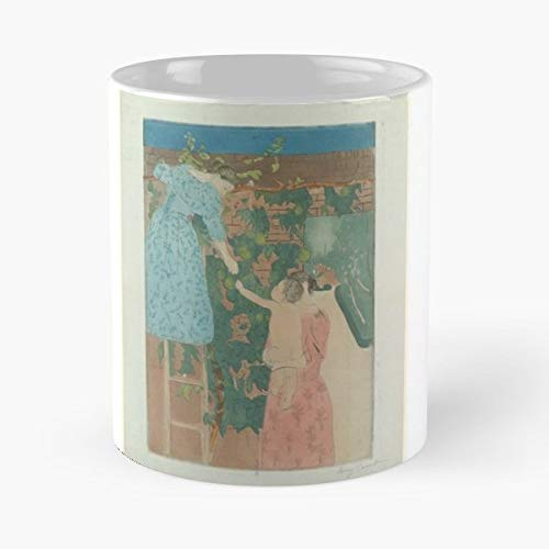 Mary Cassatt 1844 Births1926 Deaths American Impressionist Painters Expatriates In France - 11 Oz White -coffee Mug- Unique Birthday Gift-the Best Gift For Holidays.