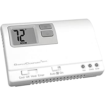 icm controls sc2211l simple comfort non programmable thermostat withicm controls sc2211l simple comfort non programmable thermostat with backlit display for 3 stage
