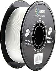1.75mm White PLA 3D Printer Filament - 1kg Spool (2.2 lbs)