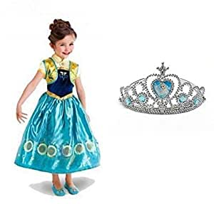 Multi Color Costume For Girls