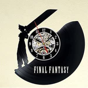 Final Fantasy Theme Unique Vinyl Wall Clock